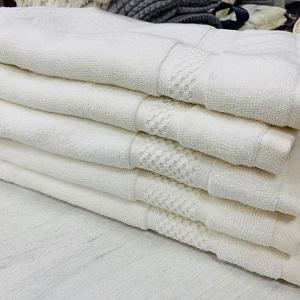 Турецкие полотенца белые 50х90